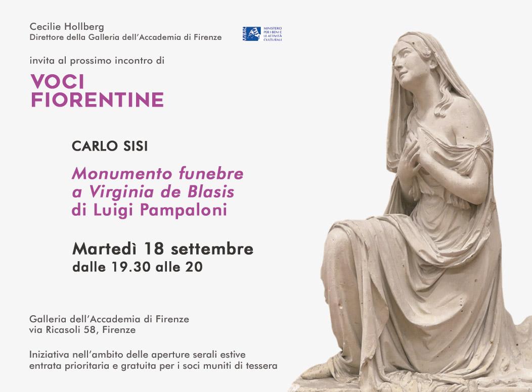 Voci Fiorentine - invito 18 settembre 2018 - Carlo Sisi - soci